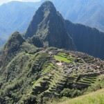 Agricultural terracing at Machu Picchu
