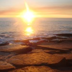 Sunset over the Indian Ocean at Kooljaman, or Cape Leveque, near One Arm Point